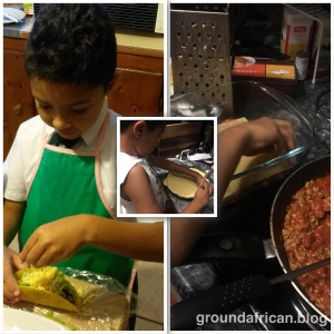#motherhood #african #groundedafrican #juniorchef #minichef #parenthood