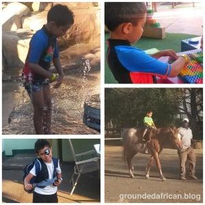 #groundedafrican #african #funinthe sun #funwithmum #horseriding #fancydress #motherhood #parenthood #parenting