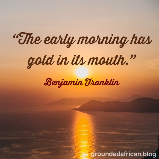 #quotescreator #benjaminfranklinquotes #groundedafrican #african #timemanagement #productivity