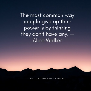 #canva #strongwomen #power #Alicewalker #groundedafrican #african #blog