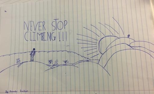 #Neverstopclimbing #Groundedafrican