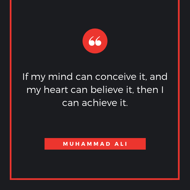 Quote by Muhammad Ali