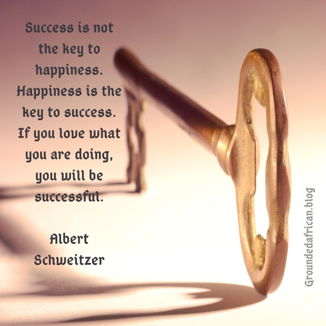 Key. Quote by Albert Schweitzer
