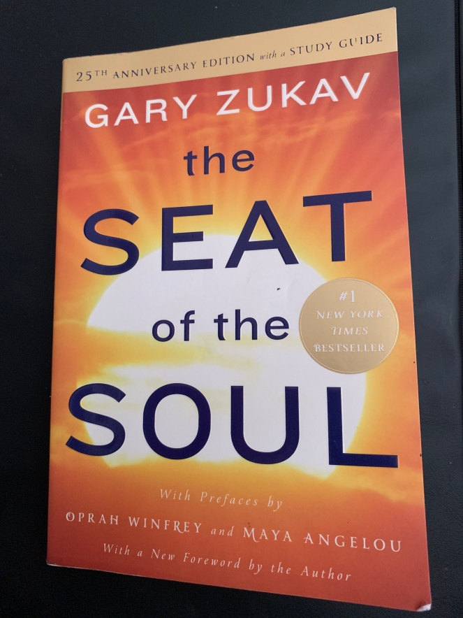 Book cover Seat of the Soul by Gary Zukav