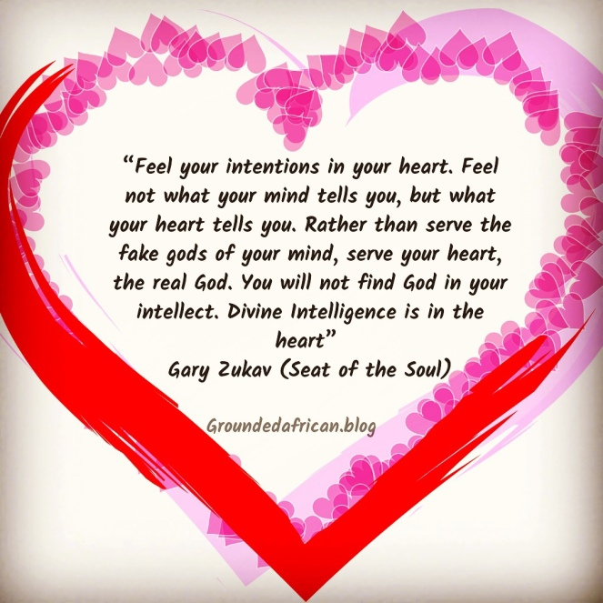 Heart with text in Centre. Quote by Gary Zukav